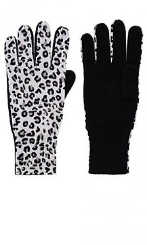 Перчатки Autumn Cashmere. Цвет: черный
