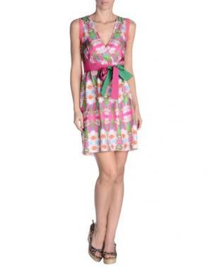 Пляжное платье FLAVIA PADOVAN. Цвет: фуксия