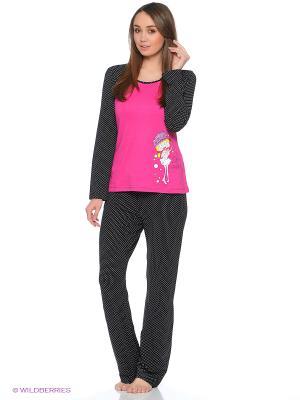 Пижама Cascatto. Цвет: розовый