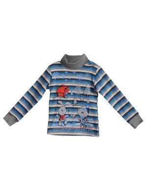 Кофточка ZEBRA KIDS. Цвет: голубой