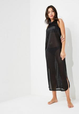 Платье пляжное Calvin Klein Underwear. Цвет: черный