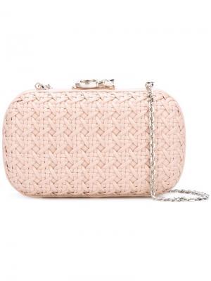 Клатч Susan C Star Corto Moltedo. Цвет: розовый и фиолетовый