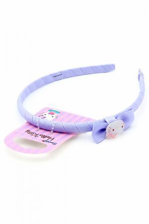 Ободок Hello Kitty. Цвет: сиреневый