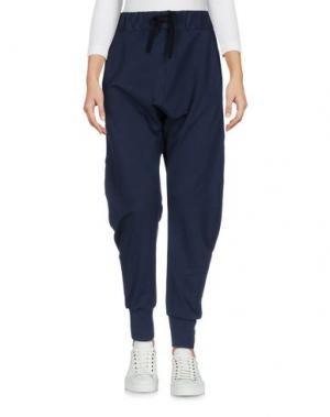 Повседневные брюки ANIYE BY. Цвет: темно-синий