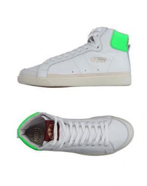 Высокие кеды и кроссовки PANTOFOLA D'ORO. Цвет: белый