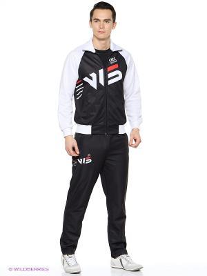 Спортивный костюм W5. Цвет: черный, белый