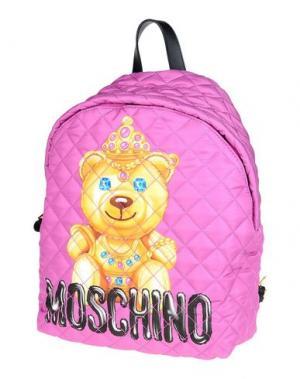 Рюкзаки и сумки на пояс MOSCHINO. Цвет: светло-фиолетовый