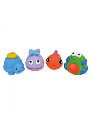 Набор для ванны K'S Kids. Цвет: голубой (осн.), оранжевый