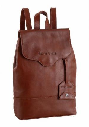 Рюкзак BRUNO BANANI. Цвет: коньячный, черный
