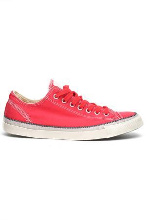 Полуботинки Converse. Цвет: красный