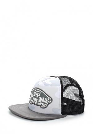 Бейсболка Vans. Цвет: серый