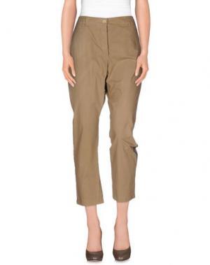 Повседневные брюки DIXIE. Цвет: хаки