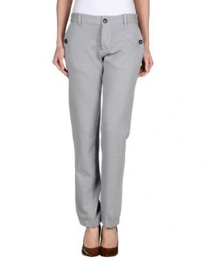 Повседневные брюки MAESNA. Цвет: светло-серый