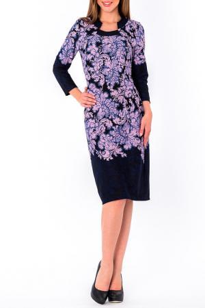 Платье S&A style. Цвет: сине-сиреневый