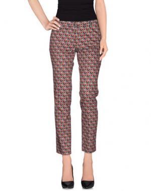 Повседневные брюки FEMME. Цвет: зеленый-милитари
