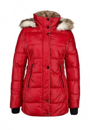 Куртка утепленная Halifax. Цвет: красный