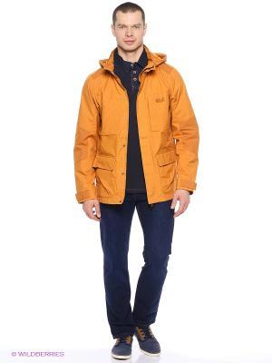 Куртка STANLEY PARKA M Jack Wolfskin. Цвет: оранжевый