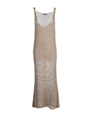 Длинное платье TWENTY EASY by KAOS. Цвет: хаки