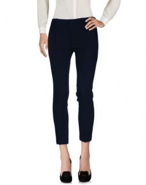 Повседневные брюки L' AUTRE CHOSE. Цвет: темно-синий