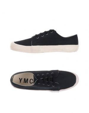 Низкие кеды и кроссовки YMC YOU MUST CREATE. Цвет: черный