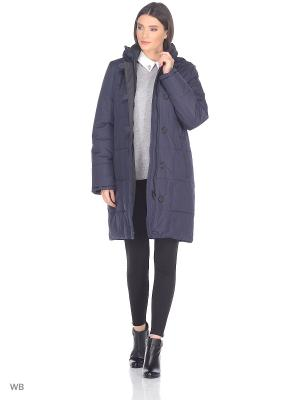 Пальто LOUISE Maritta. Цвет: синий
