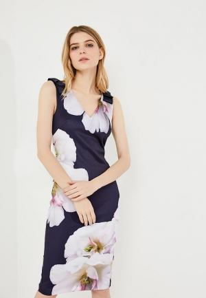 Платье Ted Baker London. Цвет: синий