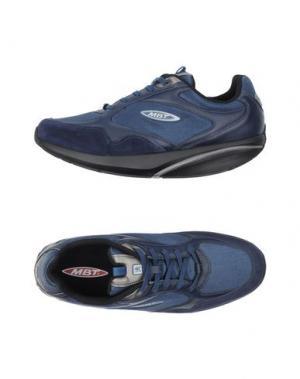 Низкие кеды и кроссовки MBT. Цвет: темно-синий