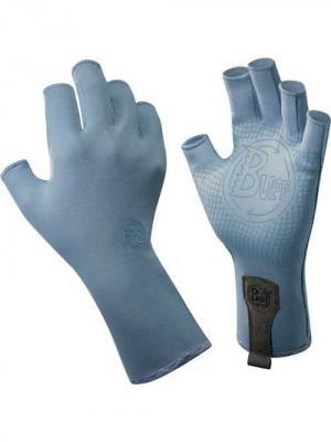 Перчатки рыболовные BUFF Sport Series Water Gloves Glacier Blue (св. голубой). Цвет: серо-голубой