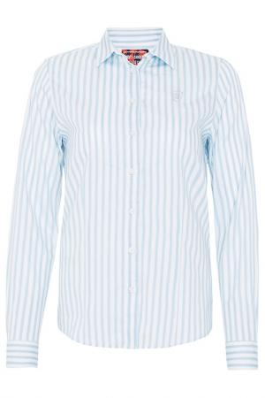 Рубашка JIMMY SANDERS. Цвет: белый