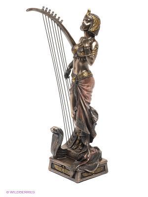 Статуэтка Клеопатра с лирой Veronese. Цвет: бронзовый
