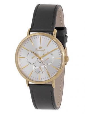 Часы наручные Romanoff. Цвет: черный, золотистый