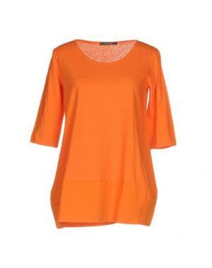Футболка BP STUDIO. Цвет: оранжевый