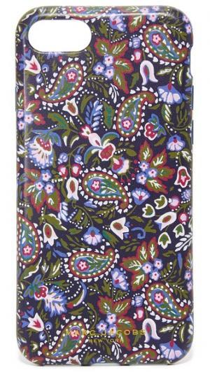 Чехол Garden для iPhone 7 с узором «павлиний глаз» Marc Jacobs