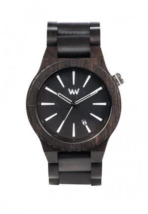 Часы Wewood. Цвет: черный