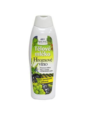 Молочко для тела Винное 500 мл. BioBione. Цвет: белый