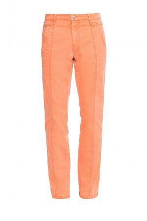 Джинсы BE-184304 Trussardi Jeans. Цвет: оранжевый