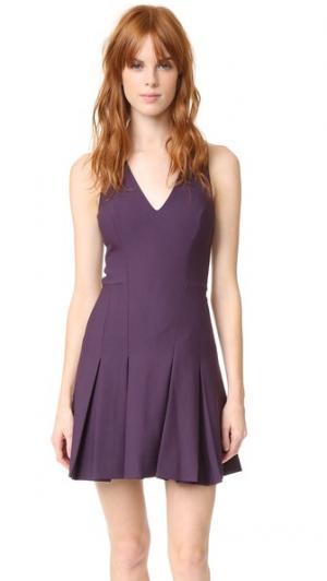 Платье Sabine Elizabeth and James. Цвет: насыщенный сливовый