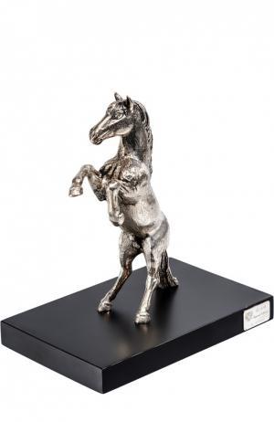 Скульптура Лошадь Tsar. Цвет: серебряный