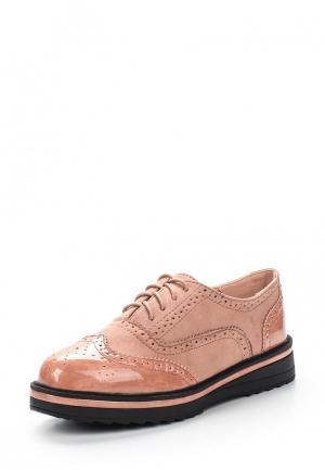 Ботинки L.Day. Цвет: розовый