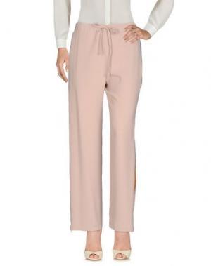 Повседневные брюки SHIRTAPORTER. Цвет: голубиный серый