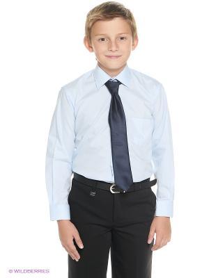 Рубашка Cascatto. Цвет: голубой