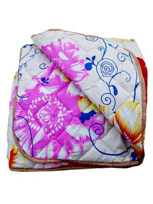 Одеяло Овечья шерсть 200х220. La Pastel. Цвет: малиновый, молочный