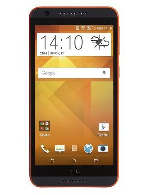 Смартфон HTC Desire 820. Цвет: черный, оранжевый