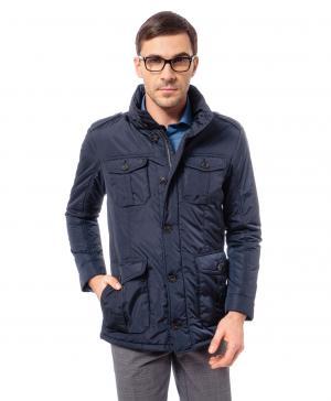 Куртка  JK-0164 NAVY HENDERSON. Цвет: синий