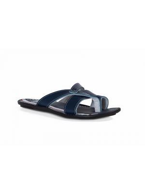 Пантолеты Bison. Цвет: синий