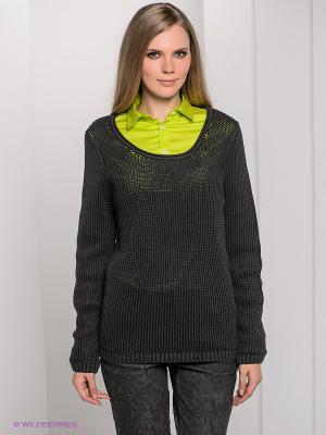 Джемпер Bogner Jeans. Цвет: серо-зеленый