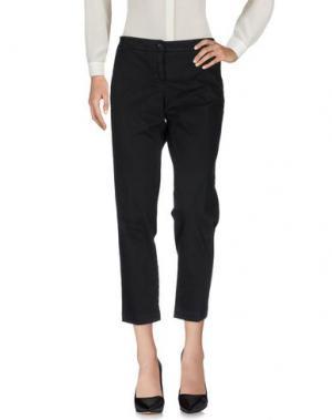 Повседневные брюки ZHELDA. Цвет: черный