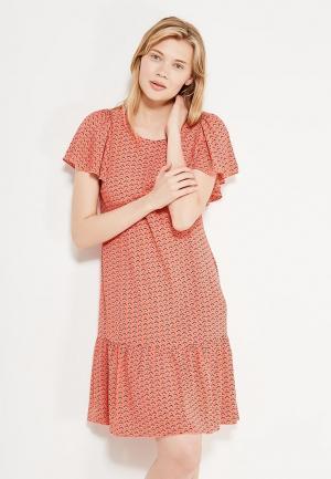 Платье Classik-T. Цвет: коралловый
