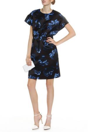 Платье SPORTMAX CODE. Цвет: black with coloured details