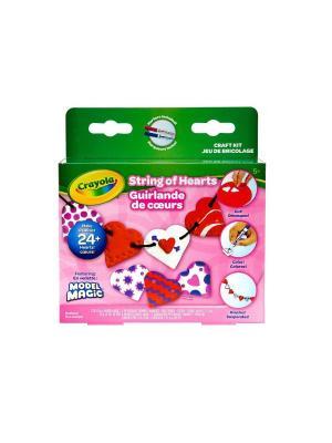Волшебный пластилин Crayola. Цвет: розовый